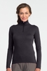 Icebreaker Womens Oasis Long Sleeve Half Zip Cognac (Autumn 2013)