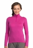 Icebreaker Womens Oasis Long Sleeve Half Zip Magneta Small