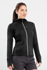Icebreaker Womens Quantum Long Sleeve Hood Black (Spring 2014)