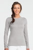 Icebreaker Womens Tech Top Long Sleeve Crewe Metro (Autumn 2013)