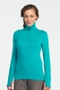 Icebreaker Womens Tech Top Long Sleeve Half Zip Mermaid (Autumn 2013)