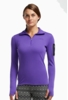 Icebreaker Womens Vertex Long Sleeve Half Zip Lupin/ Black