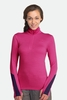 Icebreaker Womens Vertex Long Sleeve Half Zip Magenta (Autumn 2013)