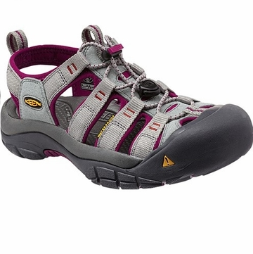 Keen Womens Newport H2 Neutral Gray/ Beet
