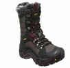 Keen Womens Durand Polar Waterproof Boot Black/ Zinfandel