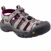 Keen Womens Newport H2 Neutral Gray/ Beet (Close Out)