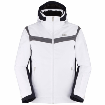 Killy Mens Tactic Jacket White/ Deep Night/ Steel Grey