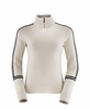 Killy Womens Delicate Pullover 1/2 Zip Off White