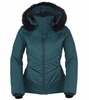 Killy Womens Lovely Fur Jacket Deep Teal