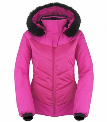 Killy Womens Lovely Fur Jacket Fuchsia