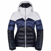 Killy Womens Pearl Down Jacket White/ Royal Blue/ Deep Night