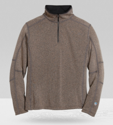 Kuhl Mens Revel 1/4 Zip Oatmeal (Autumn 2013)