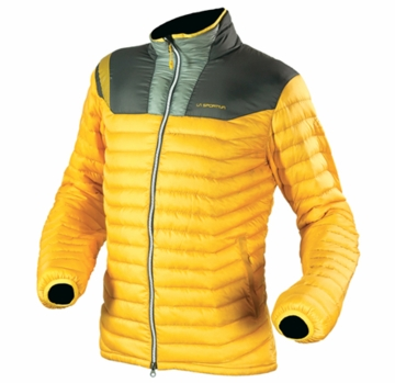 La Sportiva Mens Zoid Down Jacket Yellow