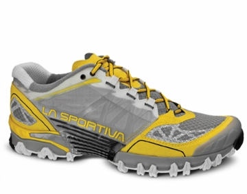 La Sportiva Womens Bushido Grey/ Yellow