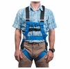 Liberty Mountain Rope Course Full-Body Harness Blue M/L