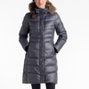 Lole Katie Jacket Real Fur Dark Charcoal
