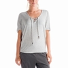 Lole Womens Audrey 2 Top Warm Grey Heather (Spring 2014)