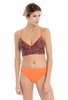 Lole Womens Baia Swim Triangle Nectarine Foliage