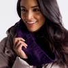 Lole Womens Cable Scarf Blackberry
