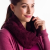 Lole Womens Cable Scarf Zinfandel