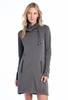 Lole Womens Call Me Dress Black Heather