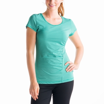 Lole Womens Curl Top Glade Green Stripe (Spring 2014)
