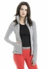 Lole Womens Essential Cardigan White Stripe