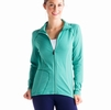 Lole Womens Essential Jacket Glade Green Stripe (Spring 2014)