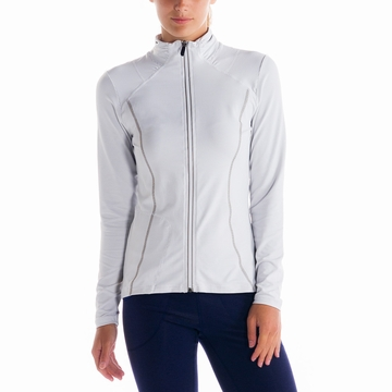 Lole Womens Essential Jacket White Stripe (Spring 2014)