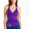 Lole Womens Jamaica Tankini Top Purple (Spring 2014)
