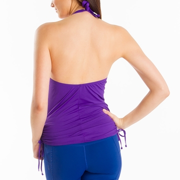 Lole Womens Jamaica Tankini Top Island Purple (Spring 2014)