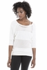 Lole Womens Marble Sweater White