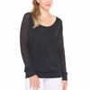 Lole Womens Orchid Top Black (Spring 2015)