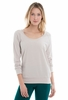 Lole Womens Orchid Top Silver Gray