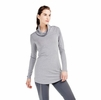 Lole Womens Principle Tunic Meteor Heather