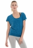 Lole Womens Sheila Top Vallarta Blue Footprint