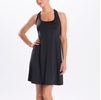 Lole Womens Sunrise 2 Dress Black Dip Dye Stripe