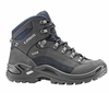 Lowa Womens Renegade GTX Mid Dark Grey/ Navy