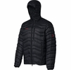 Mammut Mens Broad Peak Insulated Hooded Jacket Black