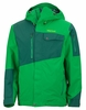 Marmot Mens Tram Line Jacket Green Bean/ Deep Forest Large