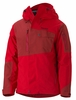 Marmot Mens Tram Line Jacket Team Red/Dark Crimson