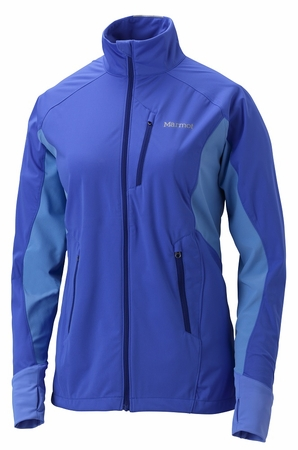 Marmot Womens Fusion Jacket Blue Dusk/ Faded Ink (close out)