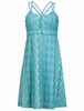 Marmot Womens Taryn Dress Aqua Blue Tapestry