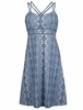 Marmot Womens Taryn Dress Dark Steel Tapestry