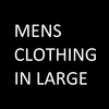 Mens Clothing Size Large