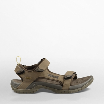 Teva Mens Tanza Leather Brown