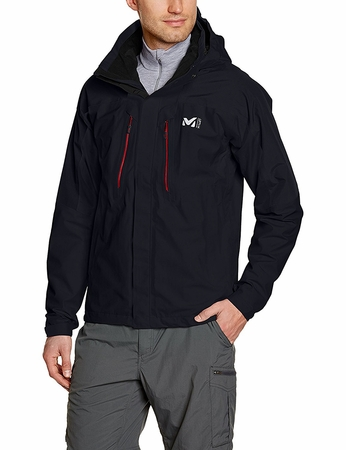 Millet Mens Hiker GTX Jacket Black/ Noir