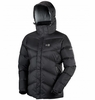 Millet Womens Eyak Down Jacket Black/ Silver
