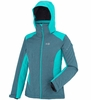 Millet Womens Hudson Bay Mountain Jacket Heather Blue/ Blue Bird