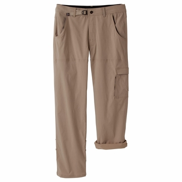 "Prana Mens Stretch Zion Pant 30"" Inseam Dark Khaki (Close Out)"